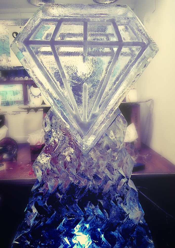 diamond ice sculpture web
