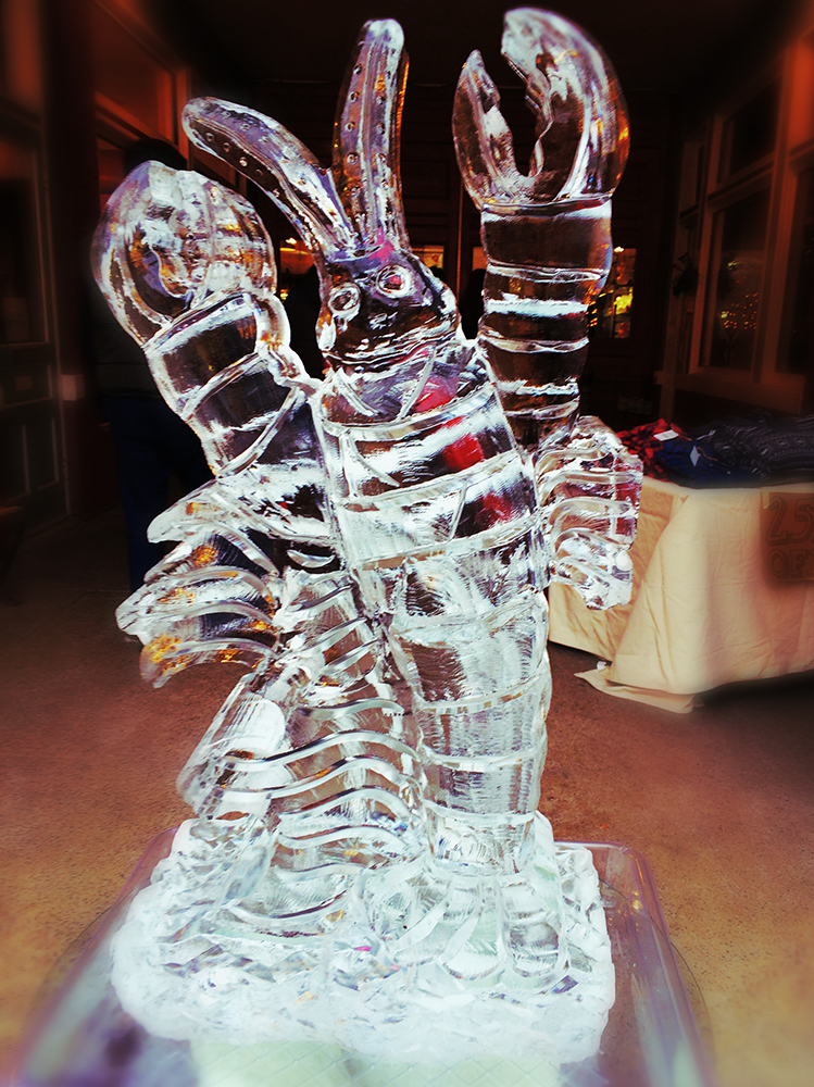 lobster ice sculpture web