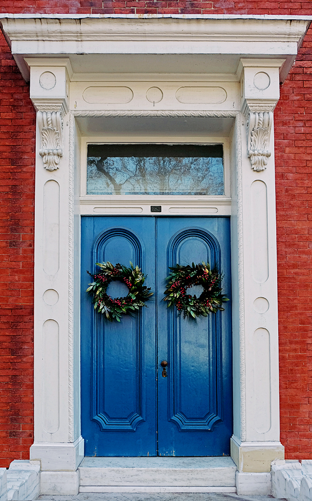 Double_blue_doors_Frederick_md