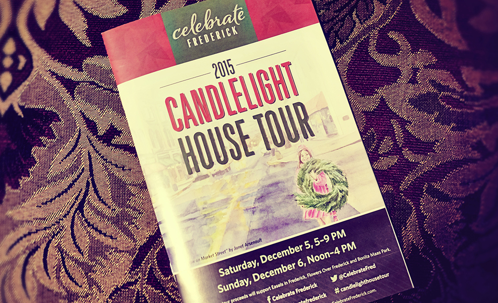 candlelight tour brochure
