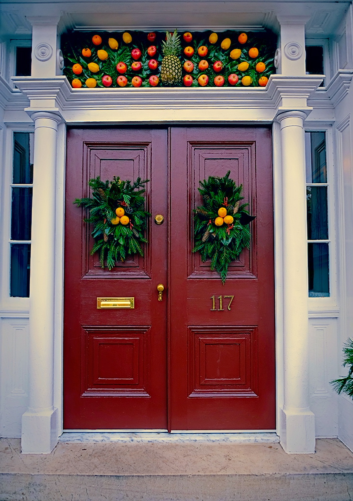 pineapple_fruit_holiday_door_frederick 2