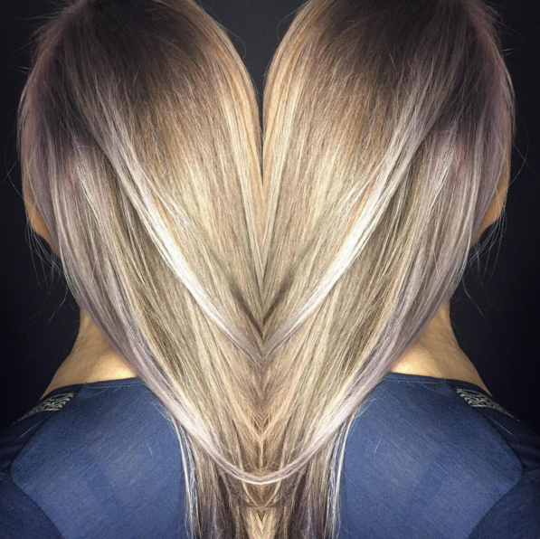 ash and platinum me DNA LAB hair